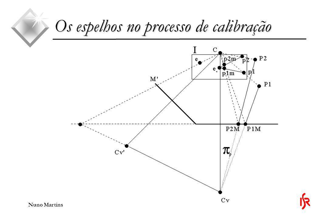 Nuno Martins Os espelhos no processo de calibração