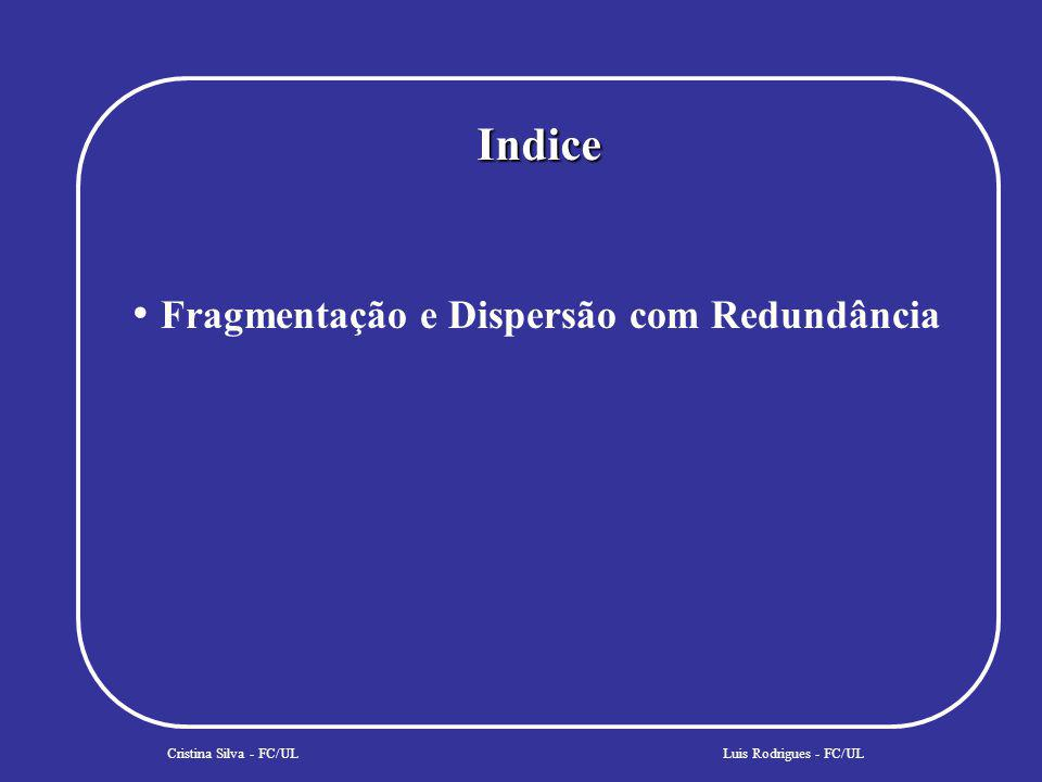 COSS - Persistência Cristina Silva - FC/UL Client Aplication PO PO PO PO PO PID POM PDS Data Store Protocol Luis Rodrigues - FC/UL