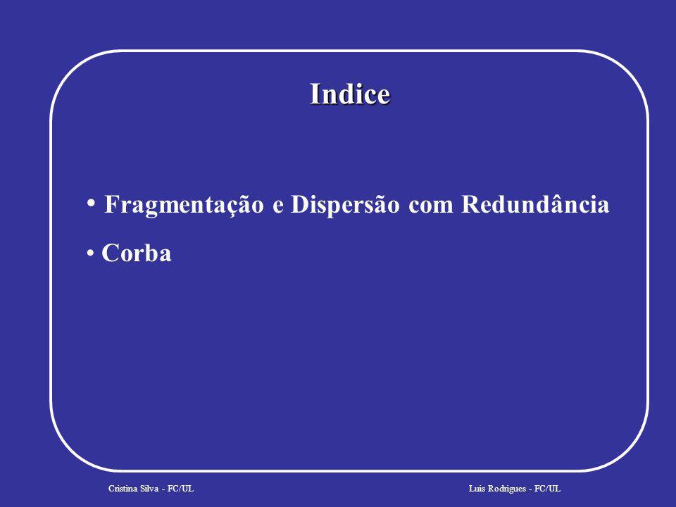 COSSSegurança Cristina Silva - FC/UL User Sponsor Principal Autentication CredentialsCurrent Client OR B user Create Request Authenticate Luis Rodrigues - FC/UL