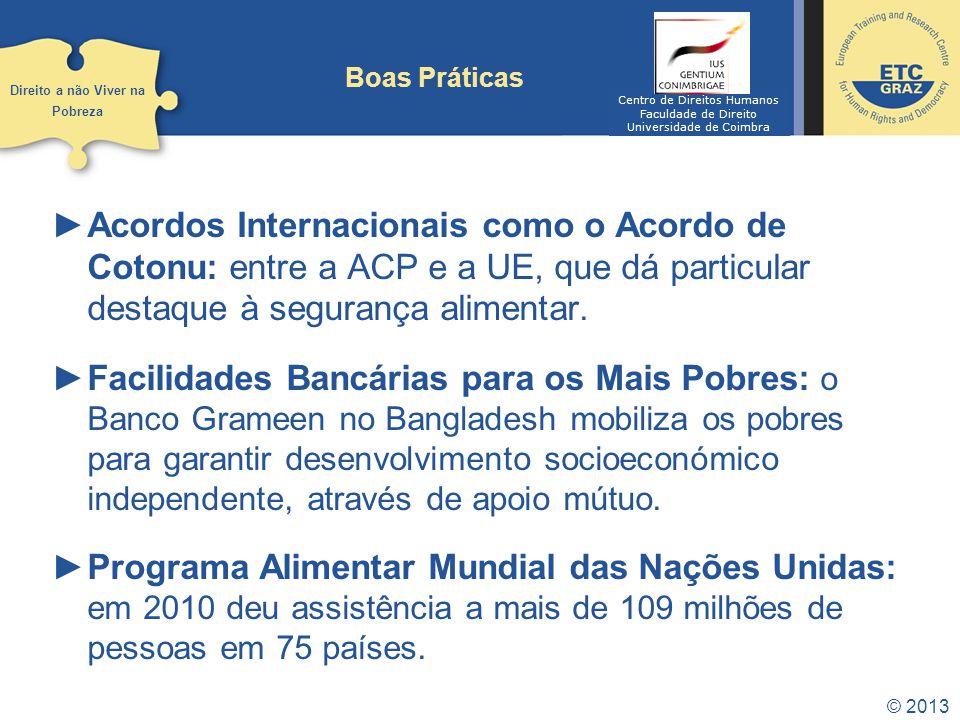 © 2013 Tendências Objetivos de Desenvolvimento do Milénio: Estarão os países no trilho.