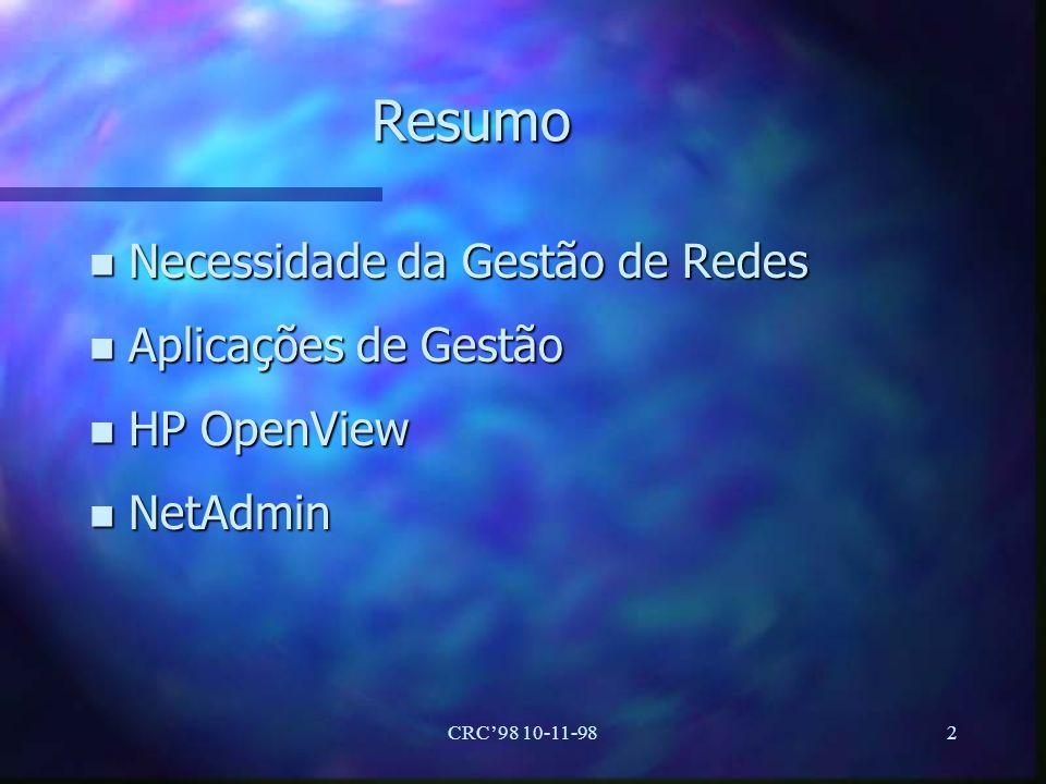 CRC98 10-11-9813 NetSearch