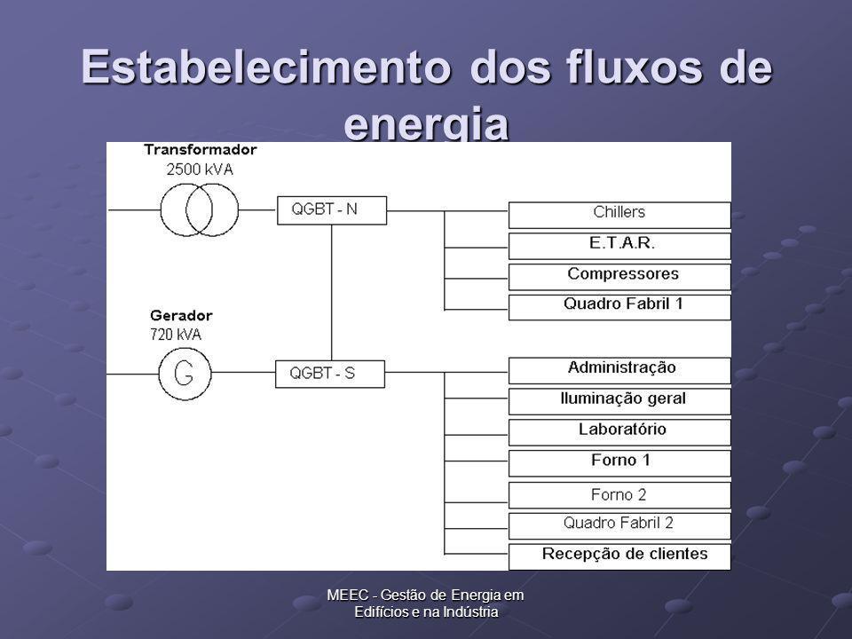 MEEC - Gestão de Energia em Edifícios e na Indústria Estabelecimento dos fluxos de energia