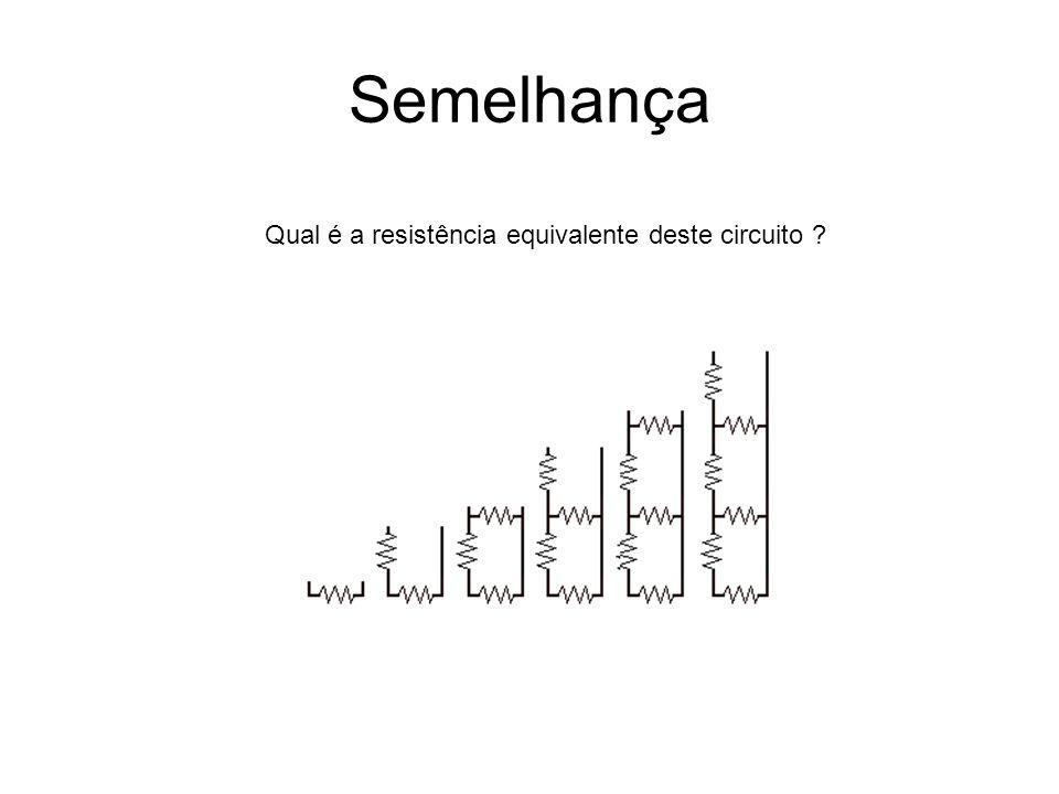 Qual é a resistência equivalente deste circuito ?