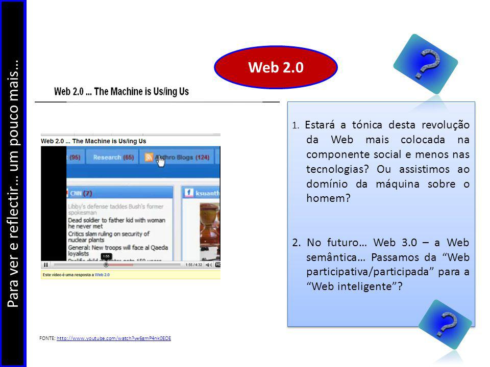 Potencialidades e constrangimentos da web 2.0… jcpaiva@netcabo.pt carlamorais@imediato.pt