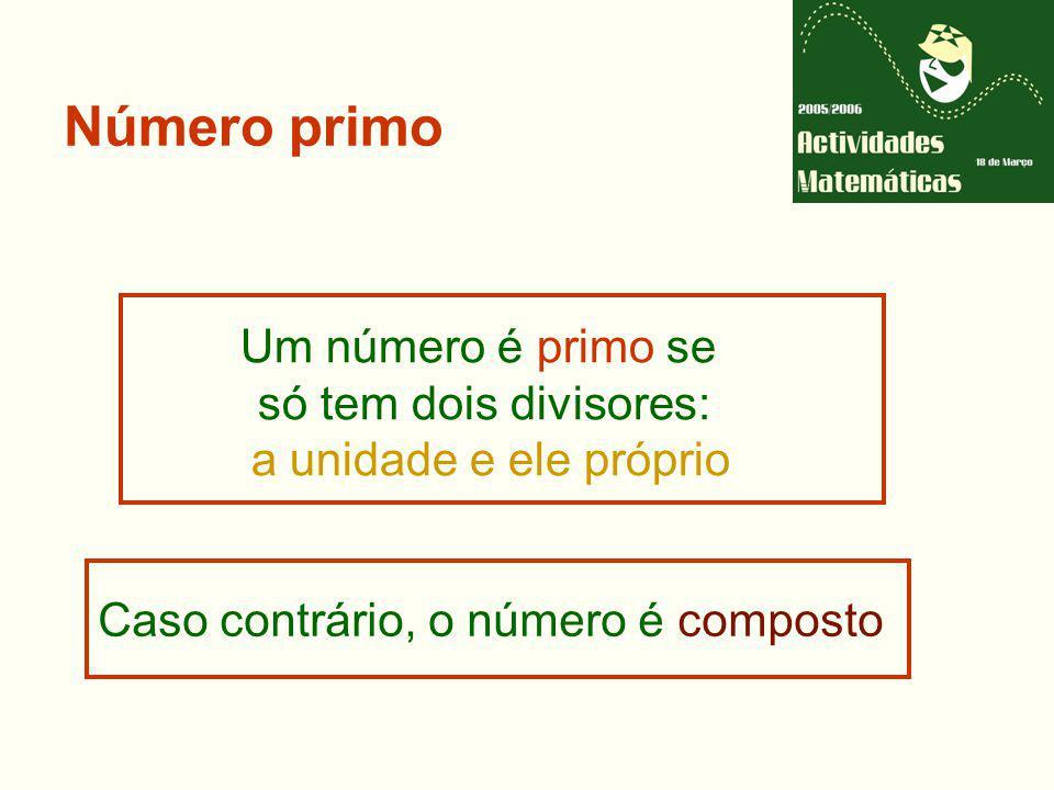 Desde quando se conhecem e estudam os números primos?
