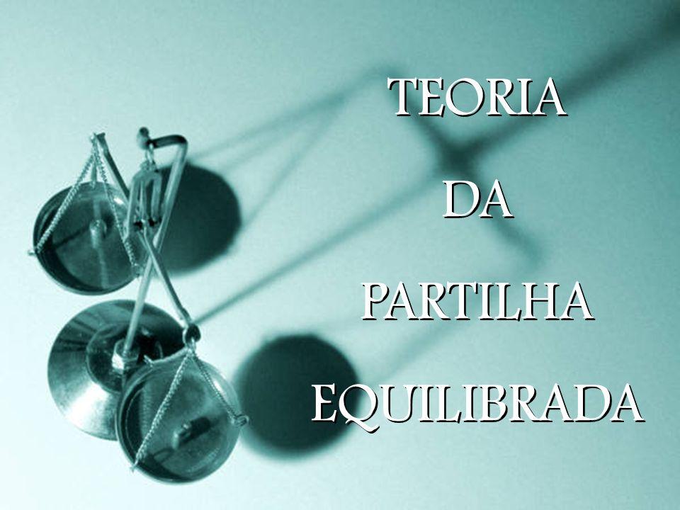 TEORIA DA PARTILHA EQUILIBRADA TEORIA DA PARTILHA EQUILIBRADA
