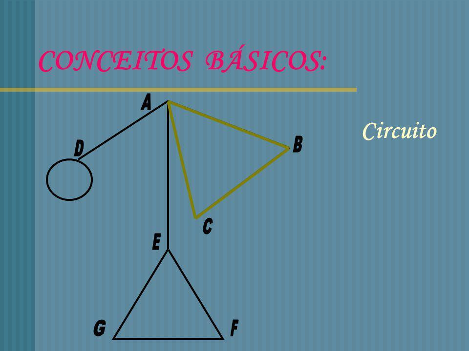 ALGORITMO DE FLEURY Ver se o grafo é conexo e se todos os seus vértices são de grau par Começar num vértice qualquer Percorrer uma aresta se : Esta não for uma ponte para a parte não atravessada do grafo Não existir outra hipótese