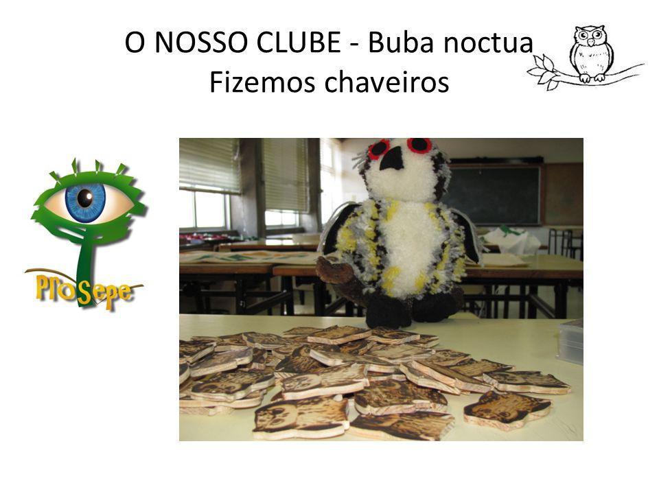 O NOSSO CLUBE - Buba noctua Fizemos chaveiros