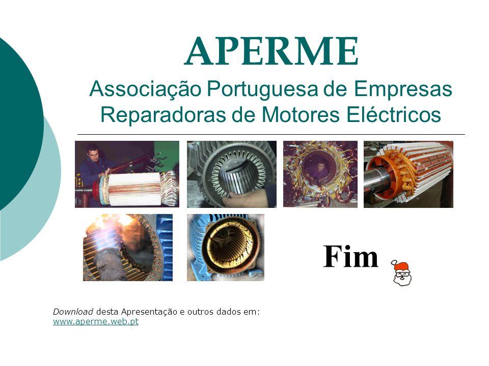 Fim Download desta Apresentação e outros dados em: www.aperme.web.pt