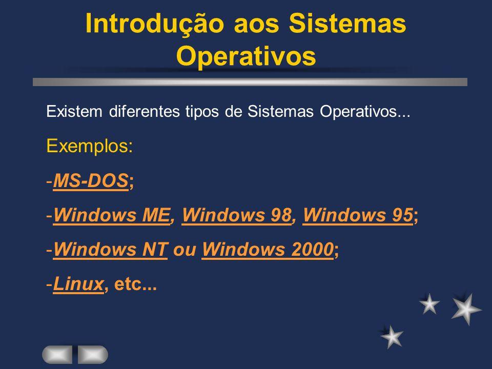 Estrutura Organizacional da Informação num computador