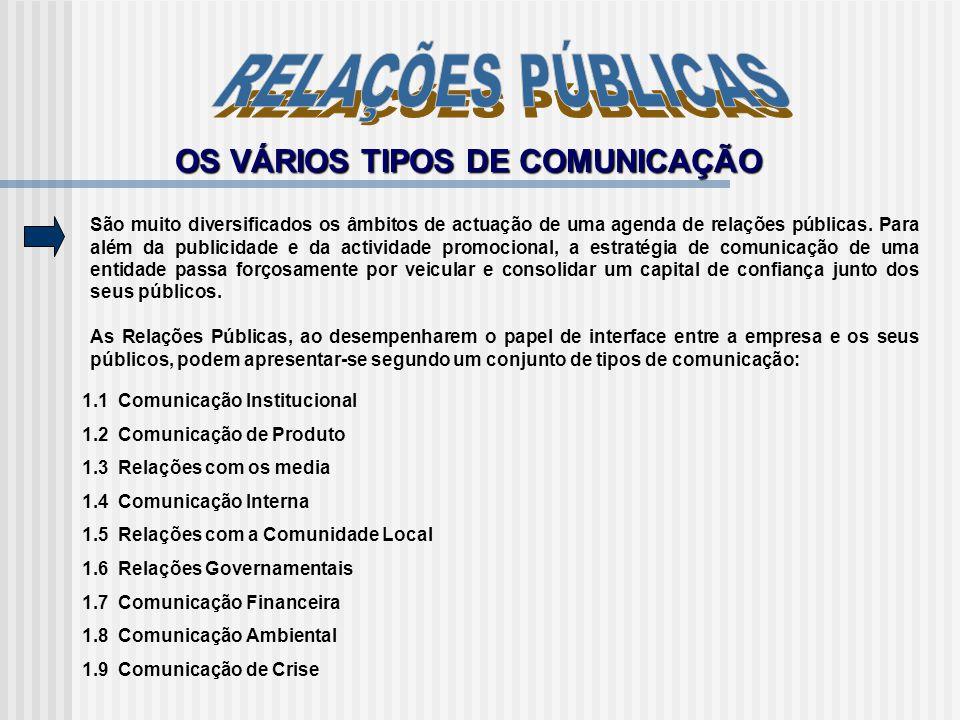 Um profissional de Relações Públicas é um construtor de pontes, não um tocador de tambor - constrói relações de longo prazo entre a empresa ou organização e os seus públicos, baseado numa comunicação biunívoca.