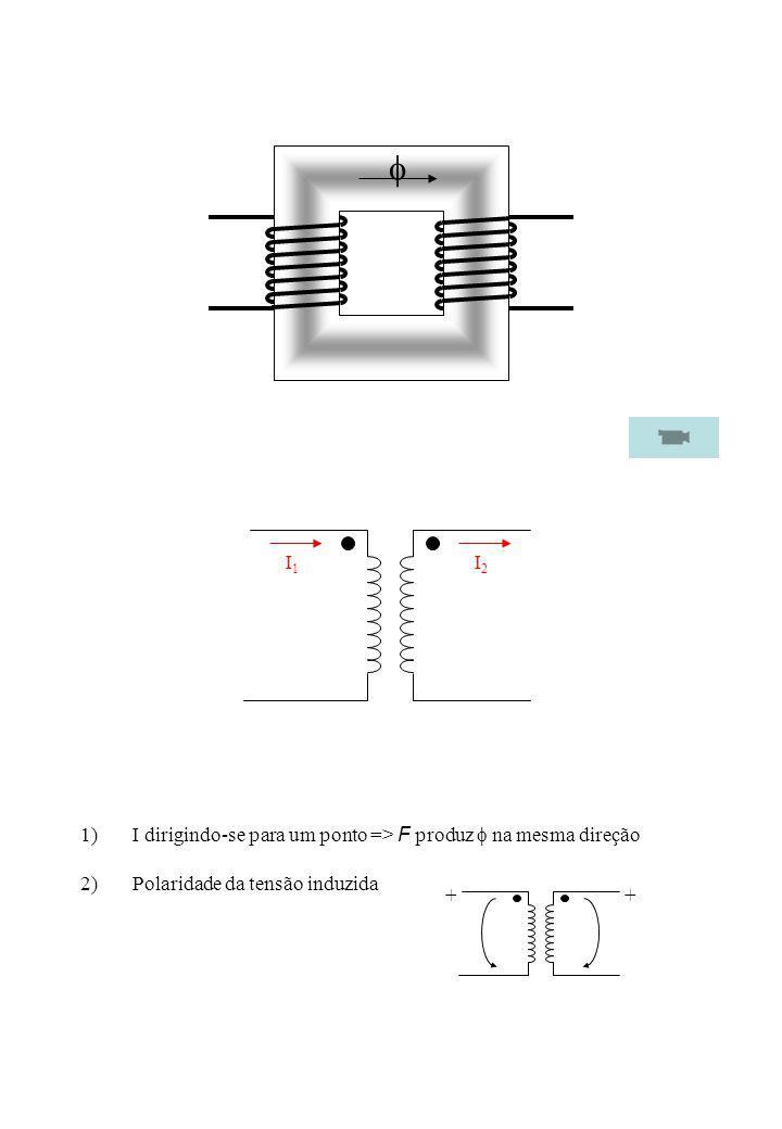 Letra maiúscula – tensão mais elevada Letra minúscula – tensão menos elevada ide,m para a forma de ligação dos enrolamentos: Y y D d Z z Transformador elevadorD y Transformador redutorY z n Convenções