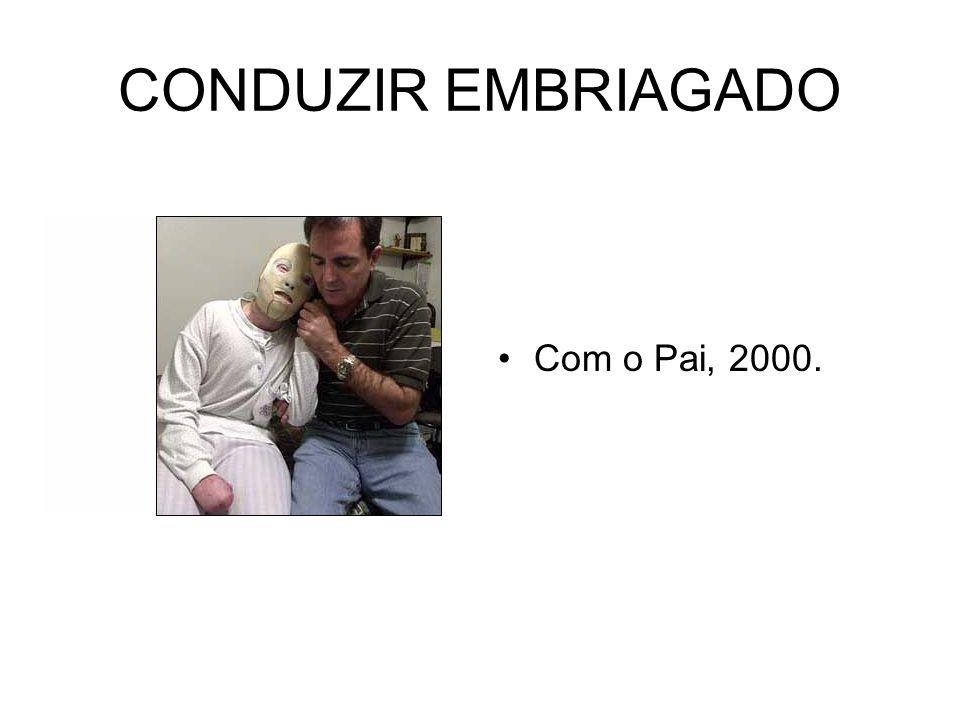 CONDUZIR EMBRIAGADO Com o Pai, 2000.