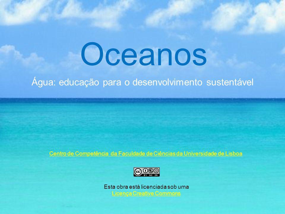 Esta apresentação é o esboço de um guião em formato hipertexto conducente à concepção de um projecto interdisciplinar sobre os oceanos e à educação para o desenvolvimento sustentável.