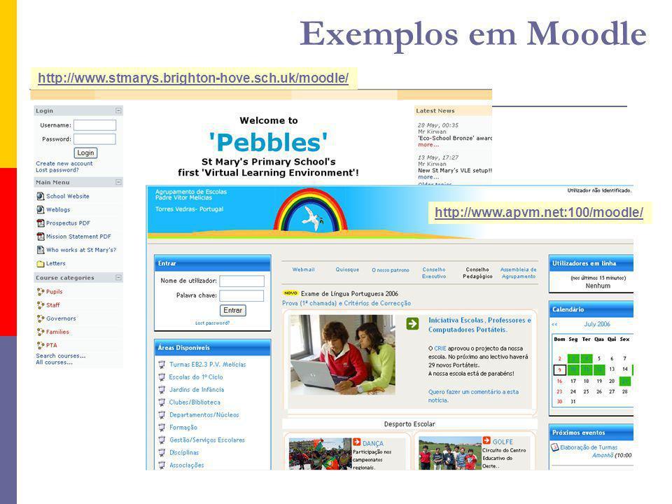 http://www.stmarys.brighton-hove.sch.uk/moodle/ http://www.apvm.net:100/moodle/