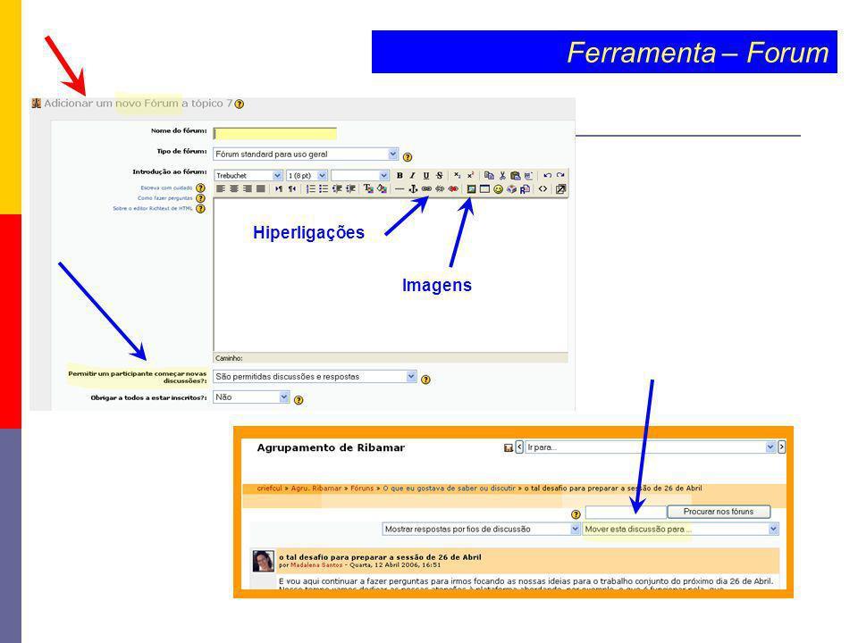 Ferramenta – Forum Hiperligações Imagens