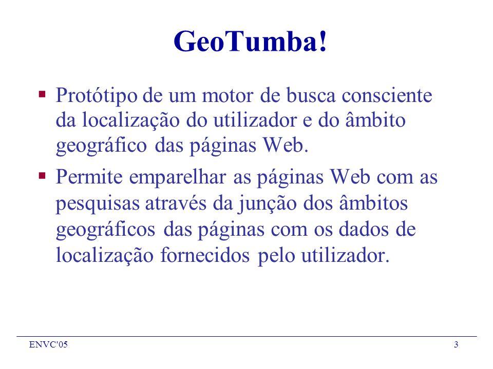 ENVC 053 GeoTumba.