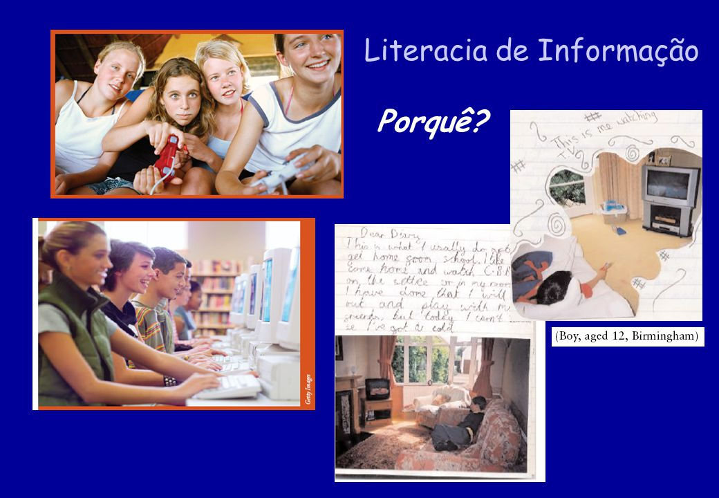 Literacia de Informação Porquê?