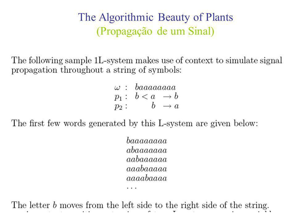 The Algorithmic Beauty of Plants (Propagação de um Sinal)
