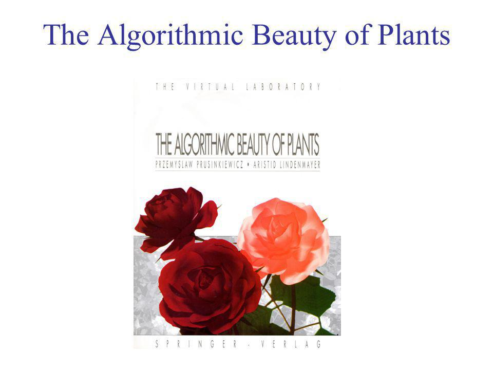 The Algorithmic Beauty of Plants (Tree OL-systems )