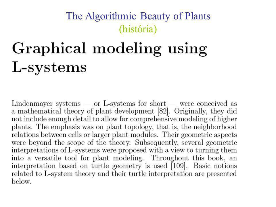 The Algorithmic Beauty of Plants (Modificações Ligeiras da Ilha Quadrática de Koch )