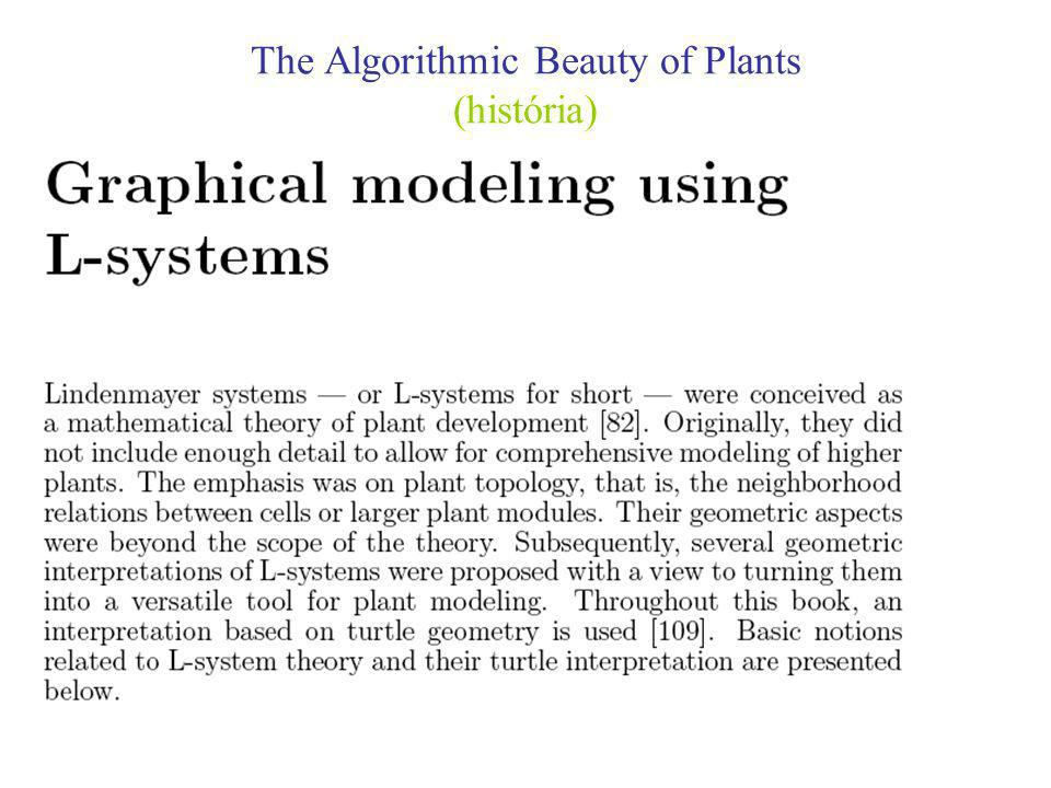 The Algorithmic Beauty of Plants (Introdução de Parêntesis Rectos)