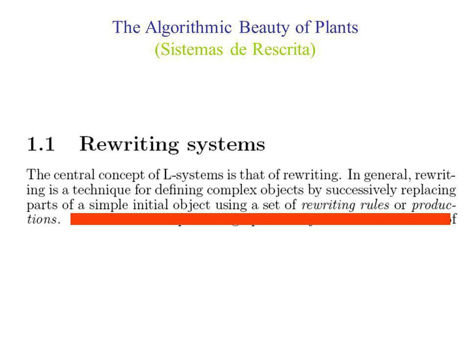 The Algorithmic Beauty of Plants (Extensão dos Sistemas-L áÁrvores)