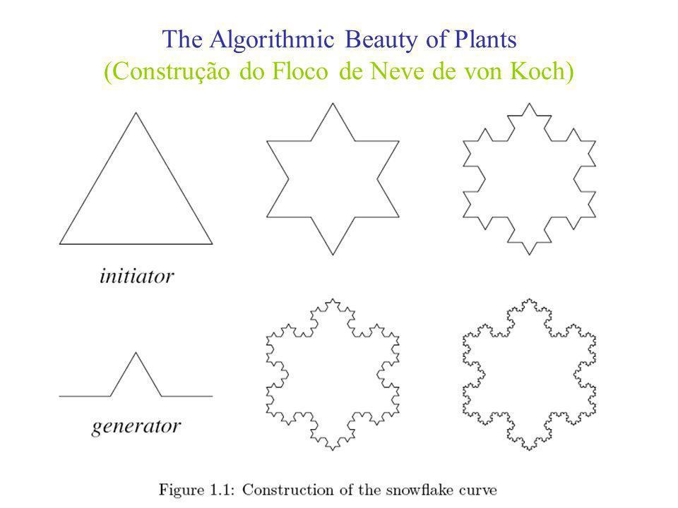 The Algorithmic Beauty of Plants (Sistemas de Rescrita em Cadeias de Caracteres)