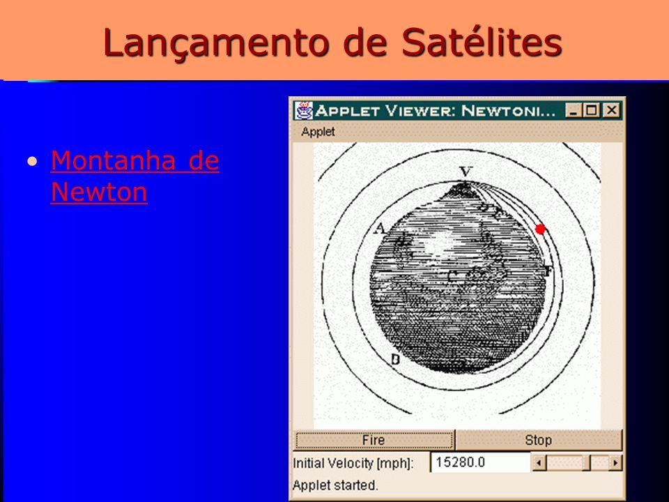 11 Lançamento de Satélites Montanha de NewtonMontanha de Newton
