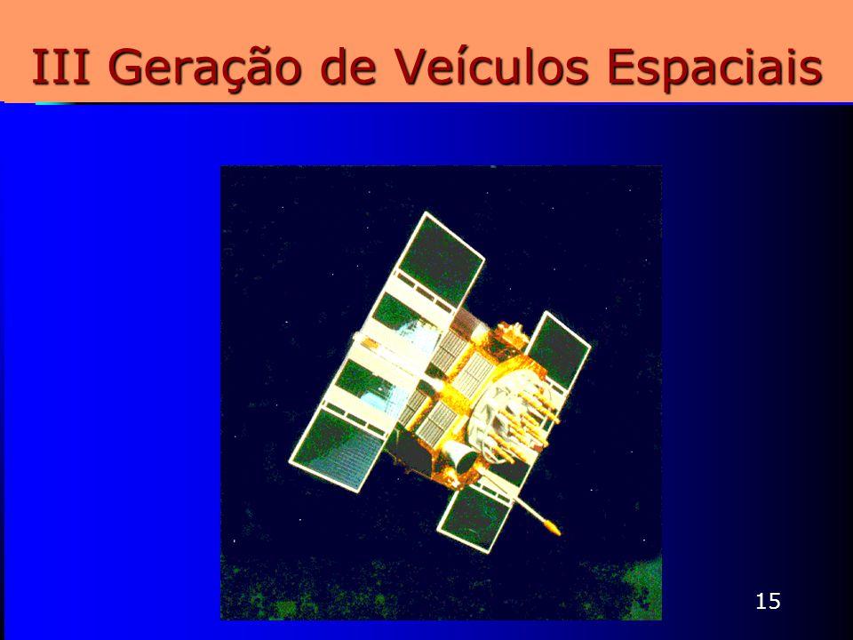 15 III Geração de Veículos Espaciais