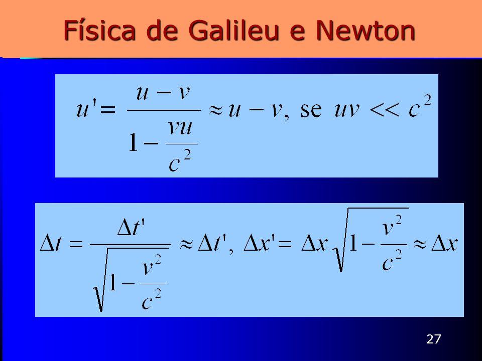27 Física de Galileu e Newton