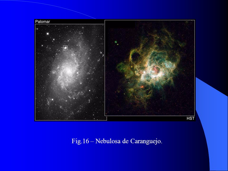 Algumas galáxias onde se pensa existir buracos negros... Fig.15 – Galáxia de Andrómeda.