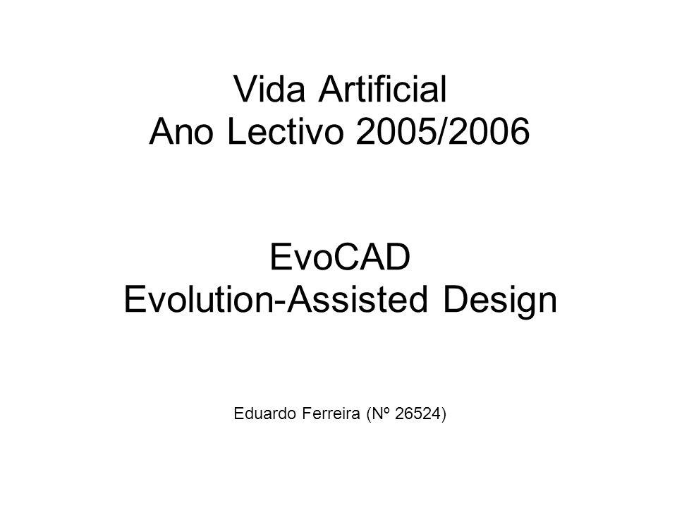 Alinhamento da Apresentação Introdução; Mecanismos Constituintes do EvoCAD; Estruturas 2D; Estruturas 3D; Aplicações Educacionais do EvoCAD.