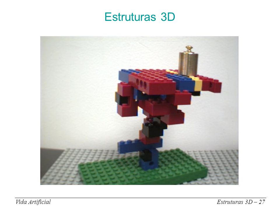 Estruturas 3D Vida ArtificialEstruturas 3D – 27