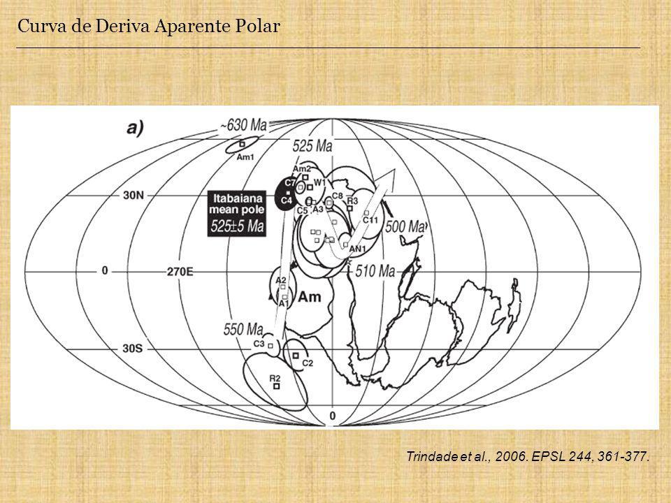 Curva de Deriva Aparente Polar Trindade et al., 2006. EPSL 244, 361-377.