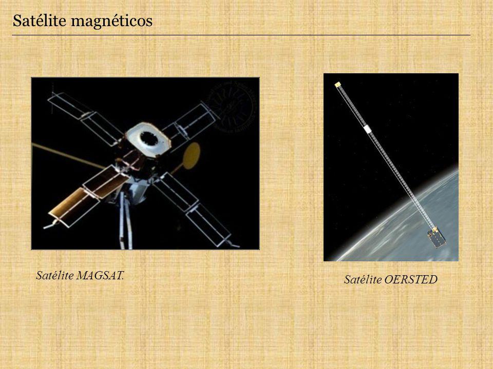 Satélite magnéticos Satélite OERSTED Satélite MAGSAT.