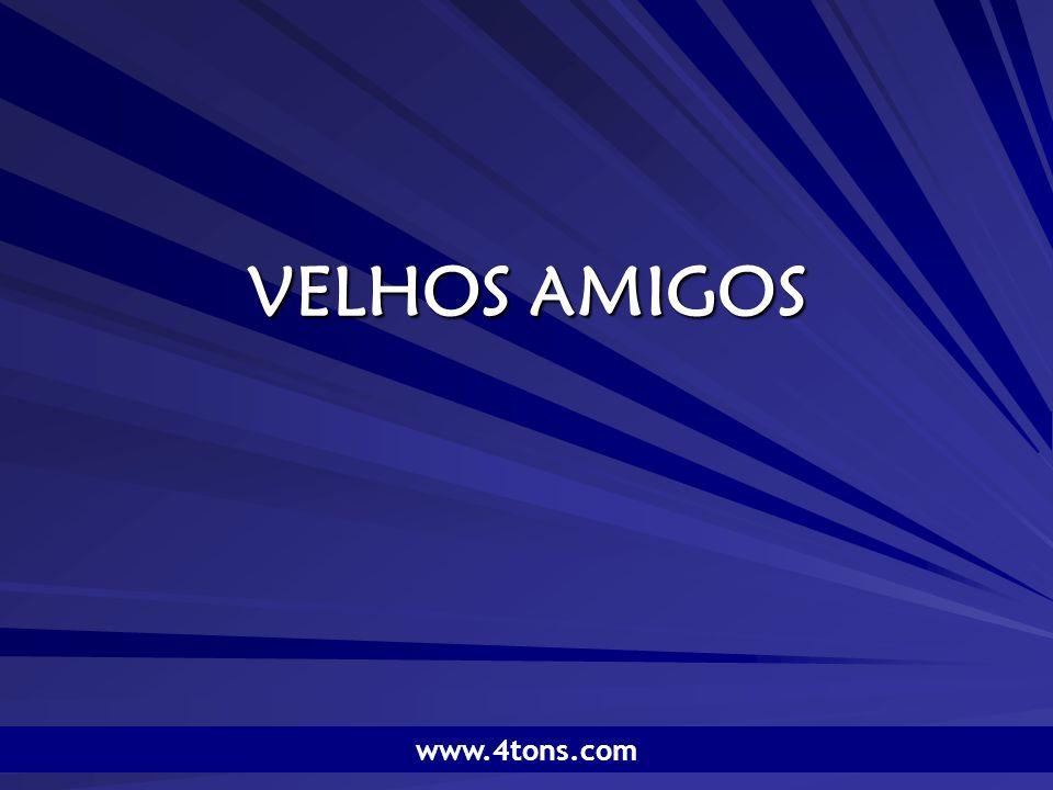 Pr.Marcelo Augusto de Carvalho 12 O amigo novo é como um vinho novo.