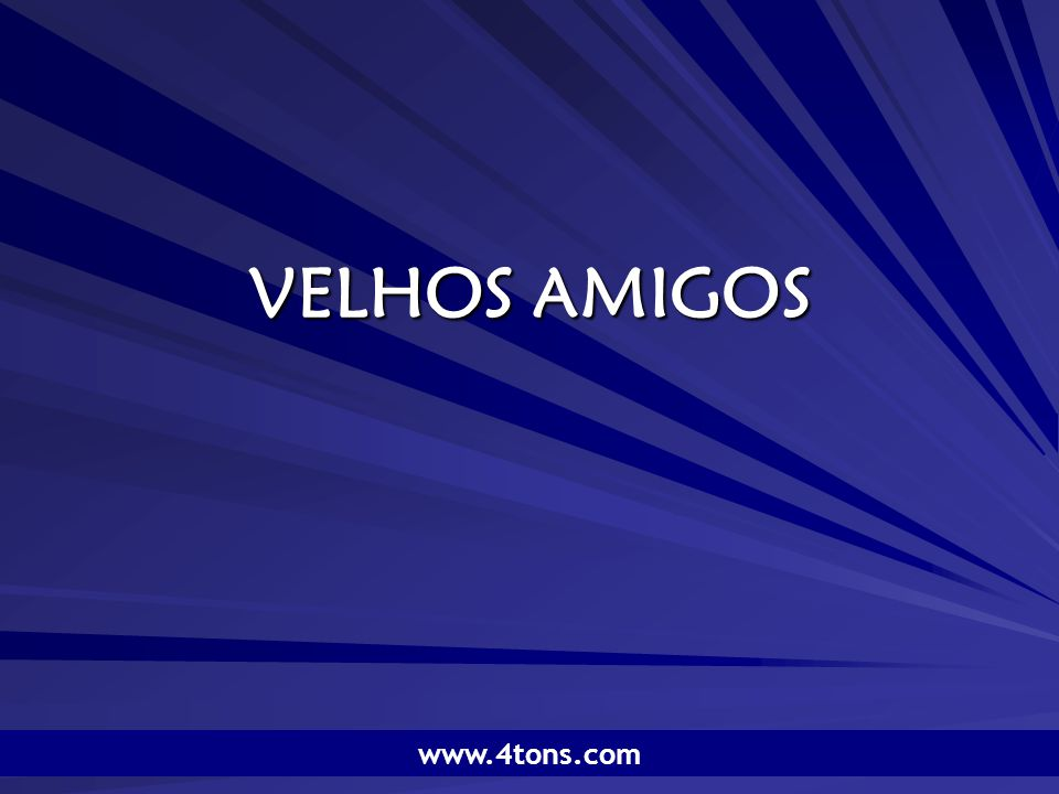 Pr. Marcelo Augusto de Carvalho 32 Faça novos amigos, mas cultive os antigos.S. Brown