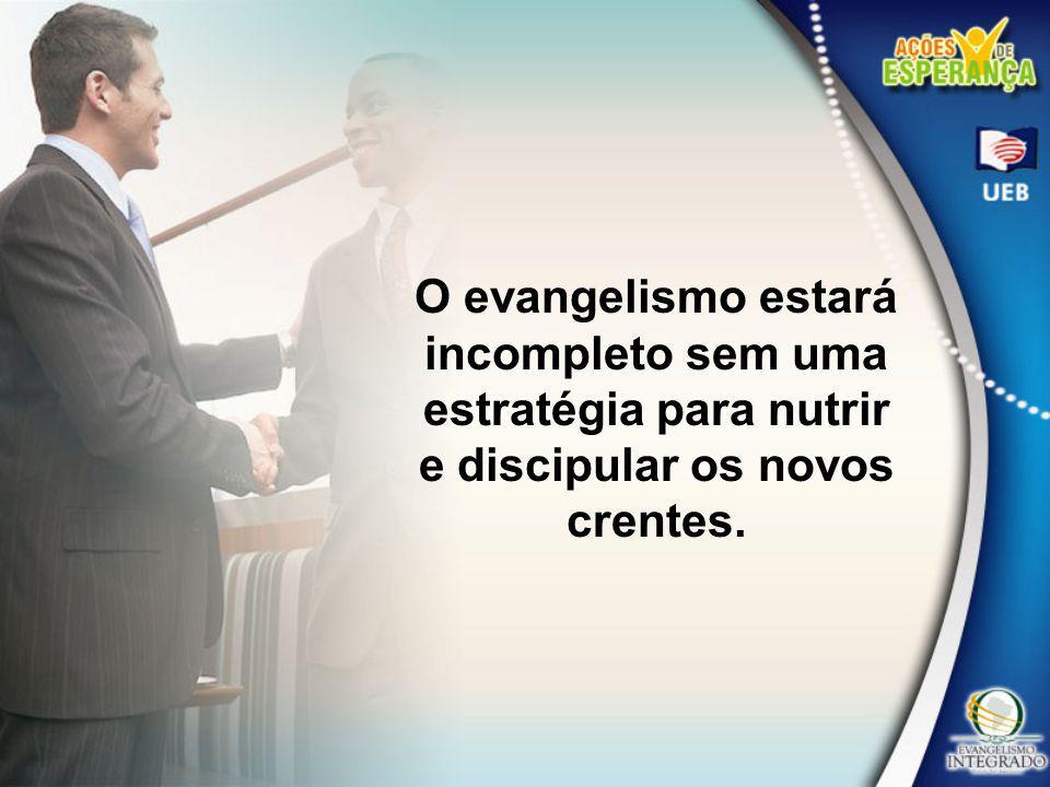 A formação de um discípulo não ocorre instantaneamente, no momento da conversão, nem se completa com o batismo.