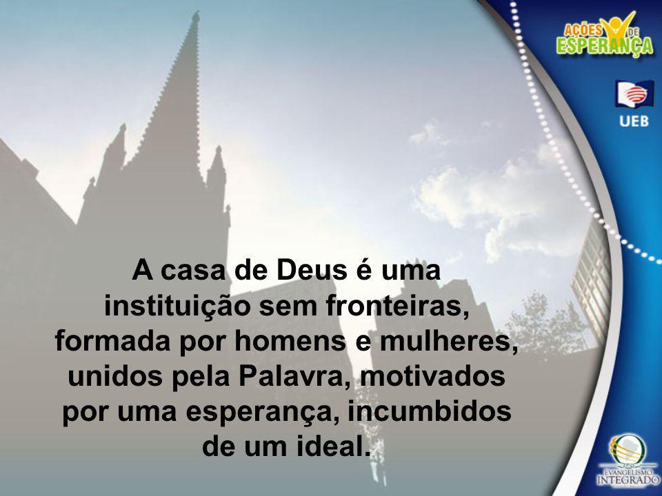 A igreja é o instrumento apontado por Deus para a salvação dos homens.