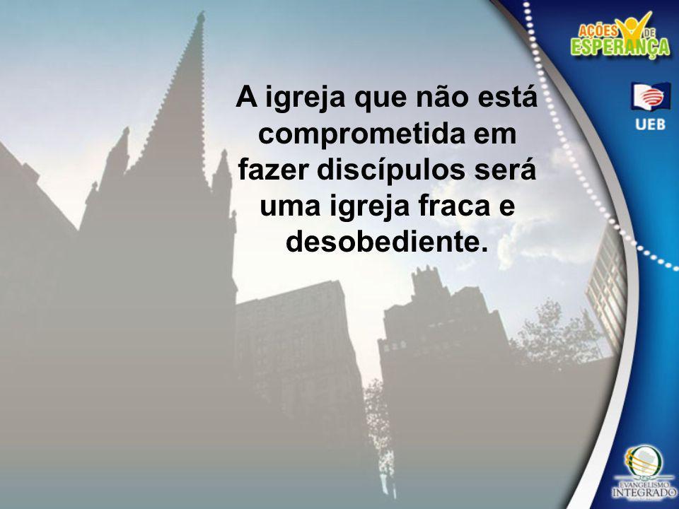 Deus espera que Sua igreja discipline e prepare seus membros para a obra de iluminar o mundo (Serviço Cristão, pág.