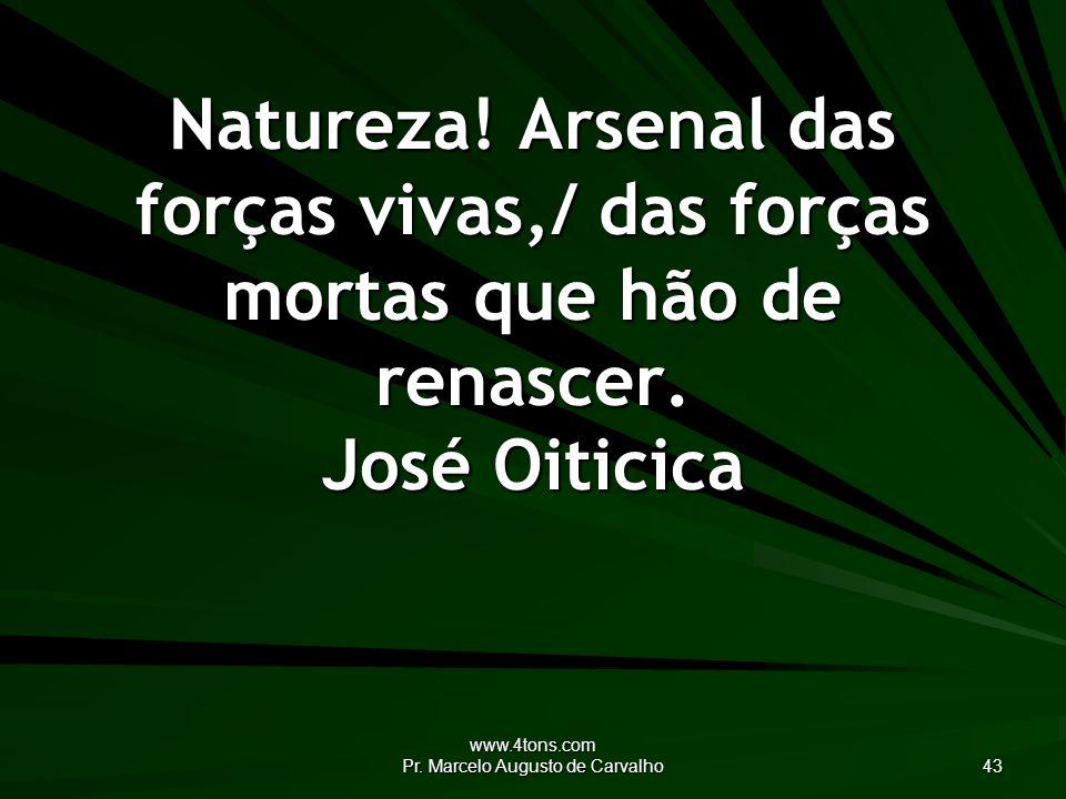 www.4tons.com Pr.Marcelo Augusto de Carvalho 43 Natureza.