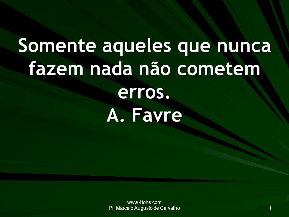 www.4tons.com Pr.Marcelo Augusto de Carvalho 2 Sejamos tolerantes.