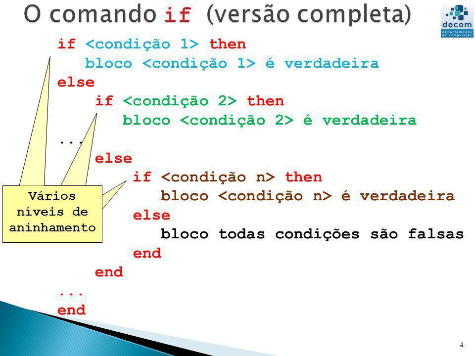 Seja f : a função definida por: Escreva um programa que leia o valor de x e imprima o valor de f(x).
