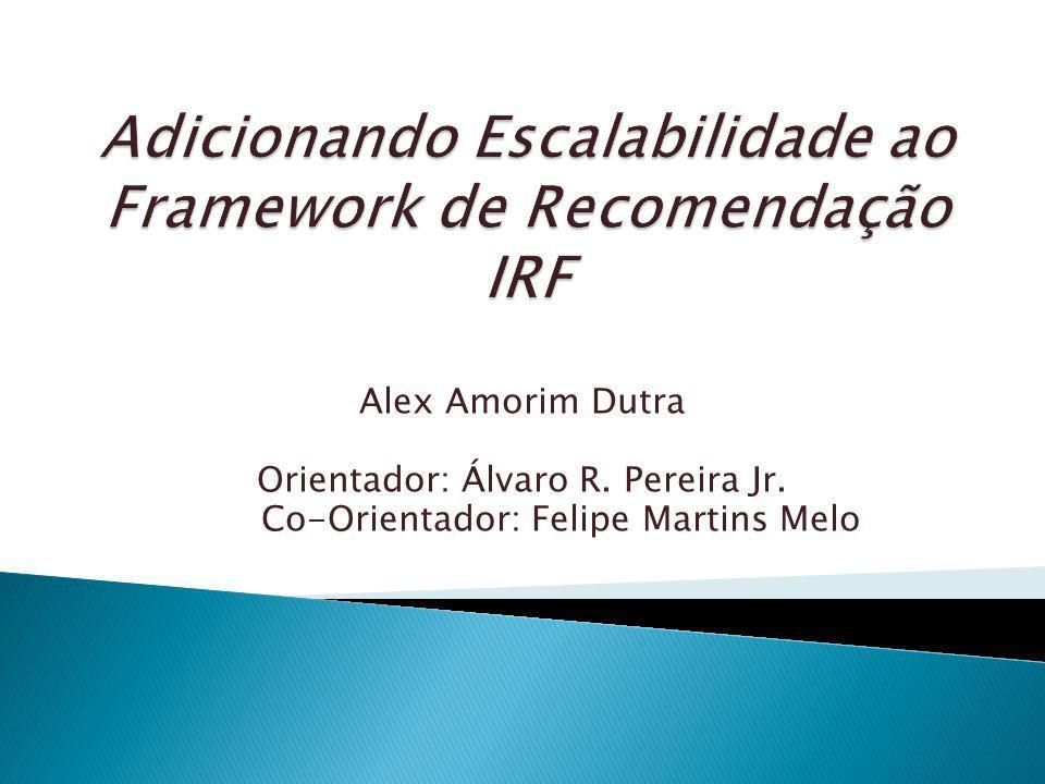 Minha Proposta Características básicas de Sistemas Distribuídos Modelo Final de produção Sistemas de recomendação Filtragem colaborativa Objetivo de um Framework Setores do IRF Recursos e estudos Cronograma Bibliografia