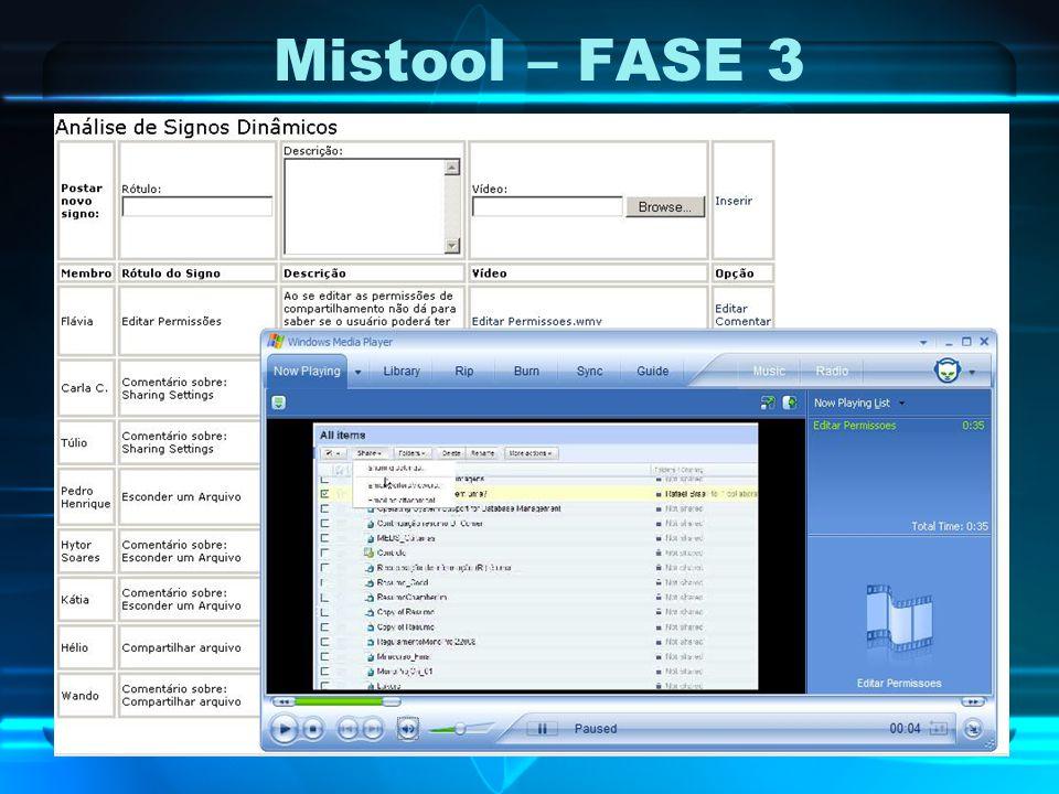 Mistool – FASE 3
