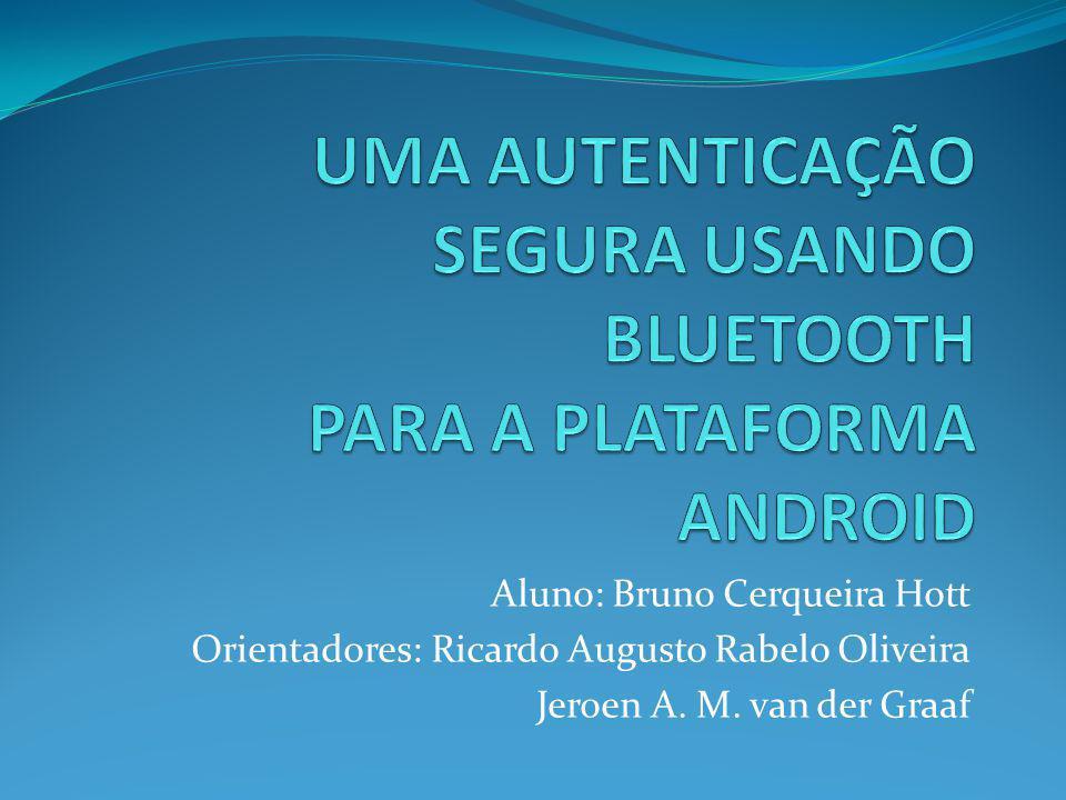 Aluno: Bruno Cerqueira Hott Orientadores: Ricardo Augusto Rabelo Oliveira Jeroen A. M. van der Graaf