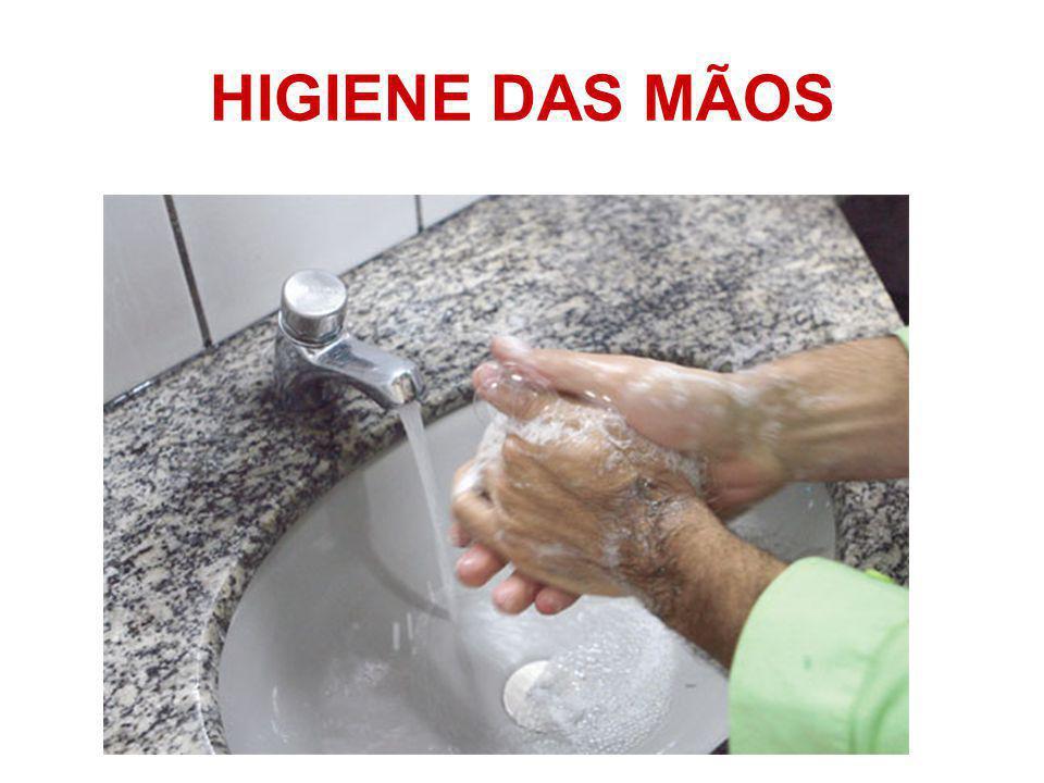 HIGIENE DAS MÃOS