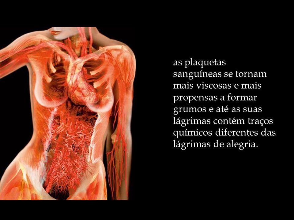 Quem está deprimido projeta tristeza em todas as partes do corpo. A produção de neurotransmissores a partir do cérebro se altera, o nível de hormônios