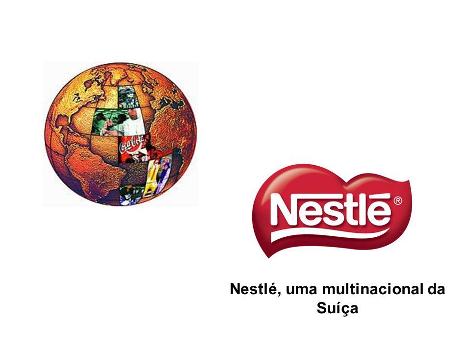 Nestlé, uma multinacional da Suíça